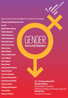 Eurozine Literatur im Herbst 2013 Doing gender after Gender