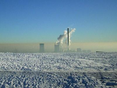 Halde Hoheward im Winter