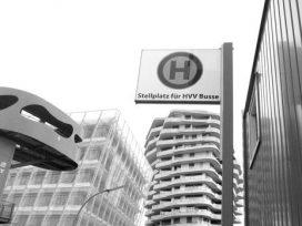 Stellplatz für HVV Busse