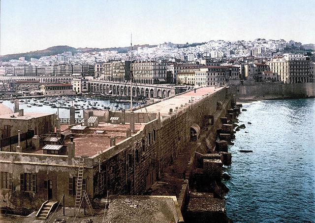 Algiers harbour, 1899.
