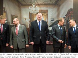 Members of the Visegrad Group meet in Brussels