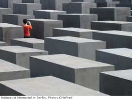 Holocaust memorial in Berlin