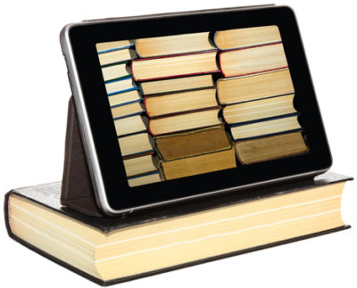 Books vs. tablet
