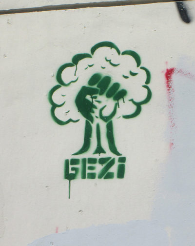 Occupy Gezi graffiti