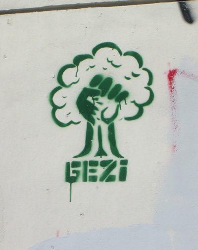 Occupy Gezi graffiti