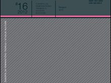 Cover for: Feminist theory: Inter- and multidisciplinary approaches