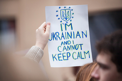 Cover for: The Ukrainian revolution is European and national