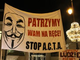 Anti-ACTA protest