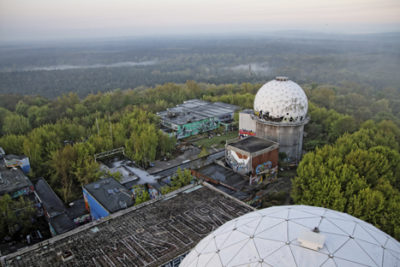 NSA radomes on Teufelsberg, Germany