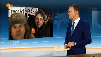 ZDF Live-Übertragung aus Dresden, Sendung vom 12. Jänner 2015