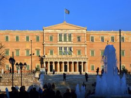parliament in greece