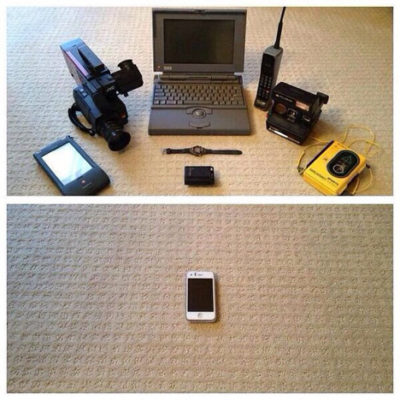 Tech devices 1993 vs 2013.