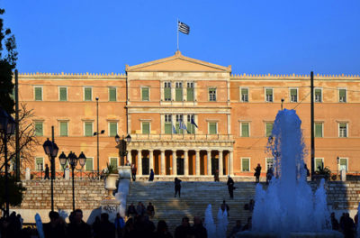 parliament in greece