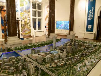 Belgrade waterfront model