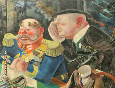 George Grosz, The Eclipse of the Sun, 1926 (detail).
