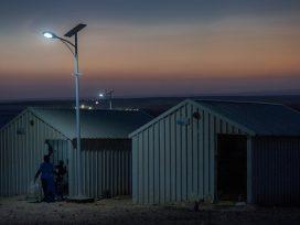 Refugee camp in Jordan.