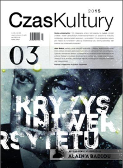 Cover for: New Eurozine partner: Czas Kultury