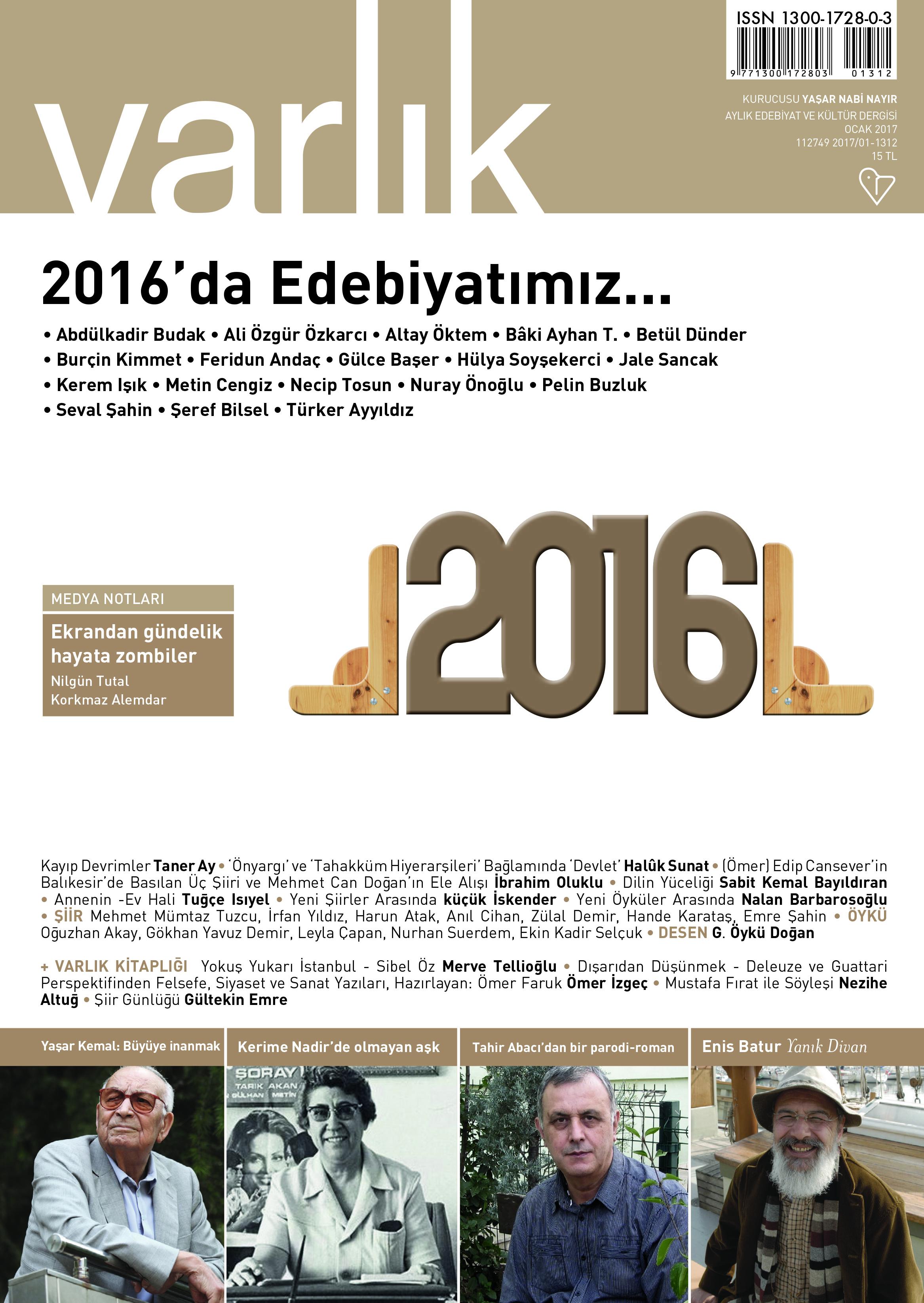 varlik cover 1/2017