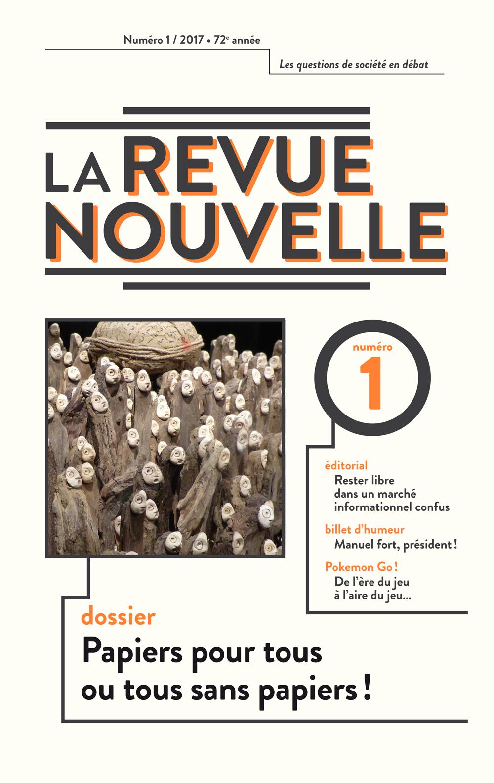 la revue nouvelle cover 1 2017