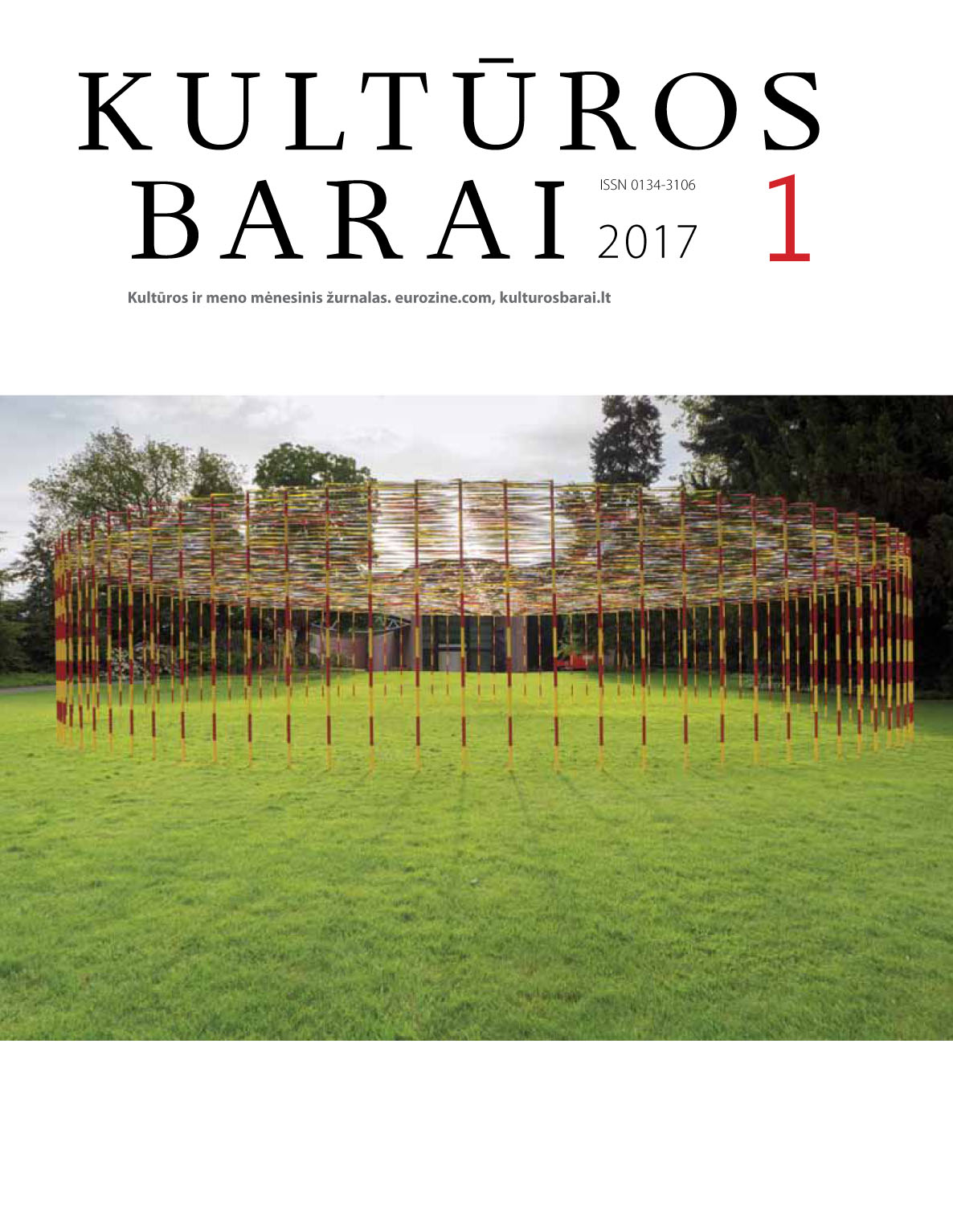 kulturos barai cover 1 2017