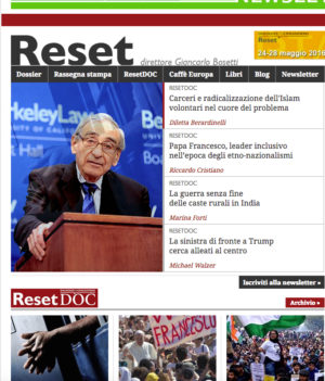 Reset web cover