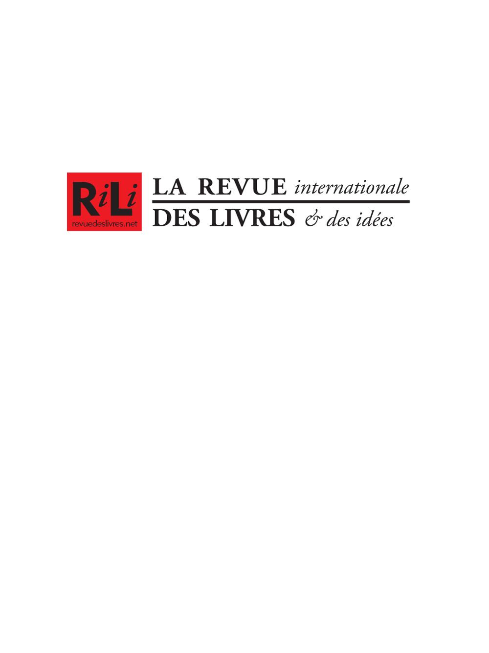 revue internationale des livres logo