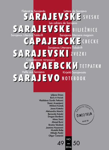 sarajevo notebook cover 49-50 2016