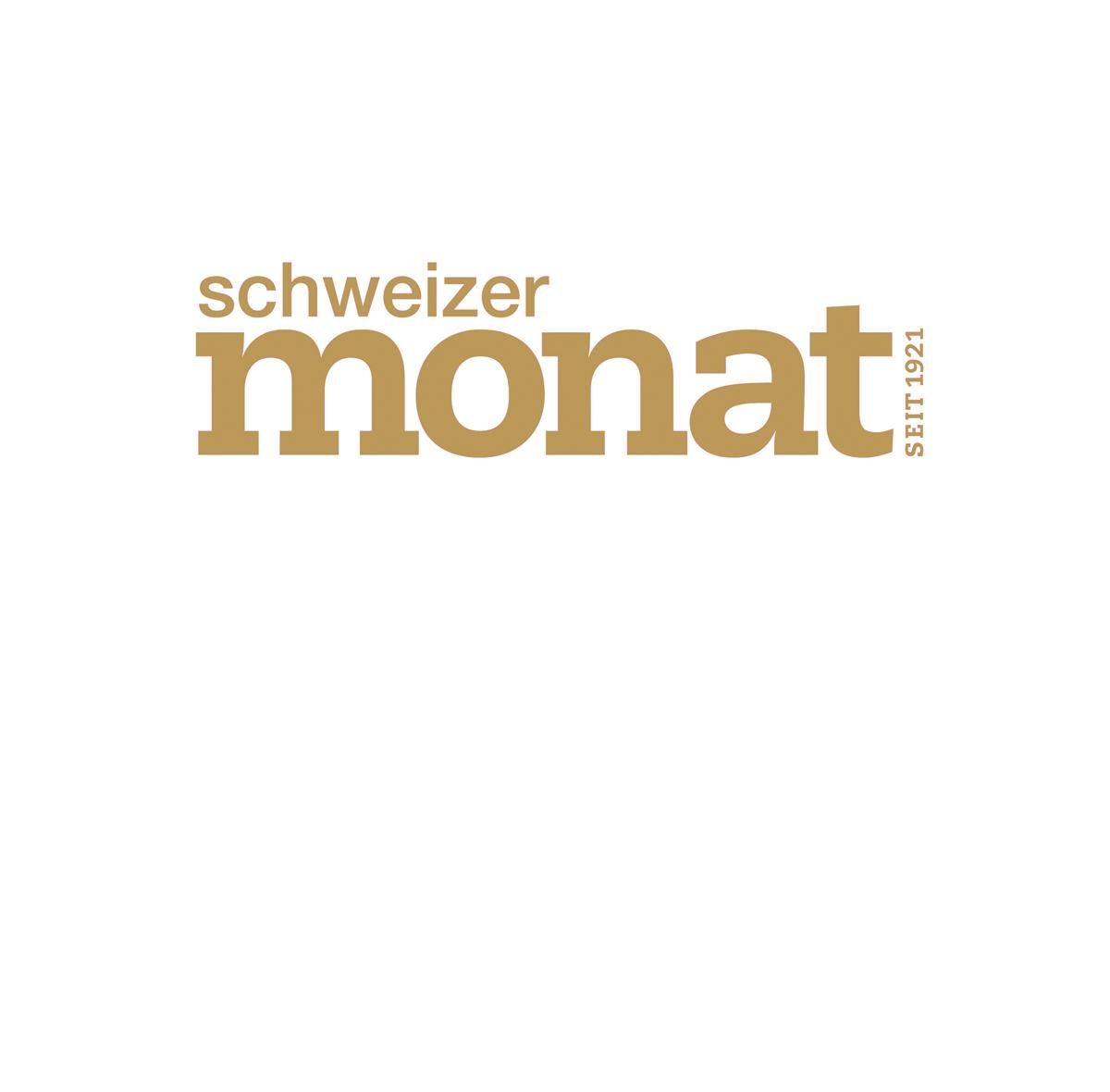 schweizer monat logo