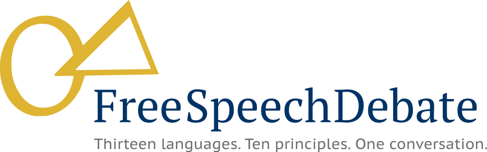 Cover of Free Speech Debate