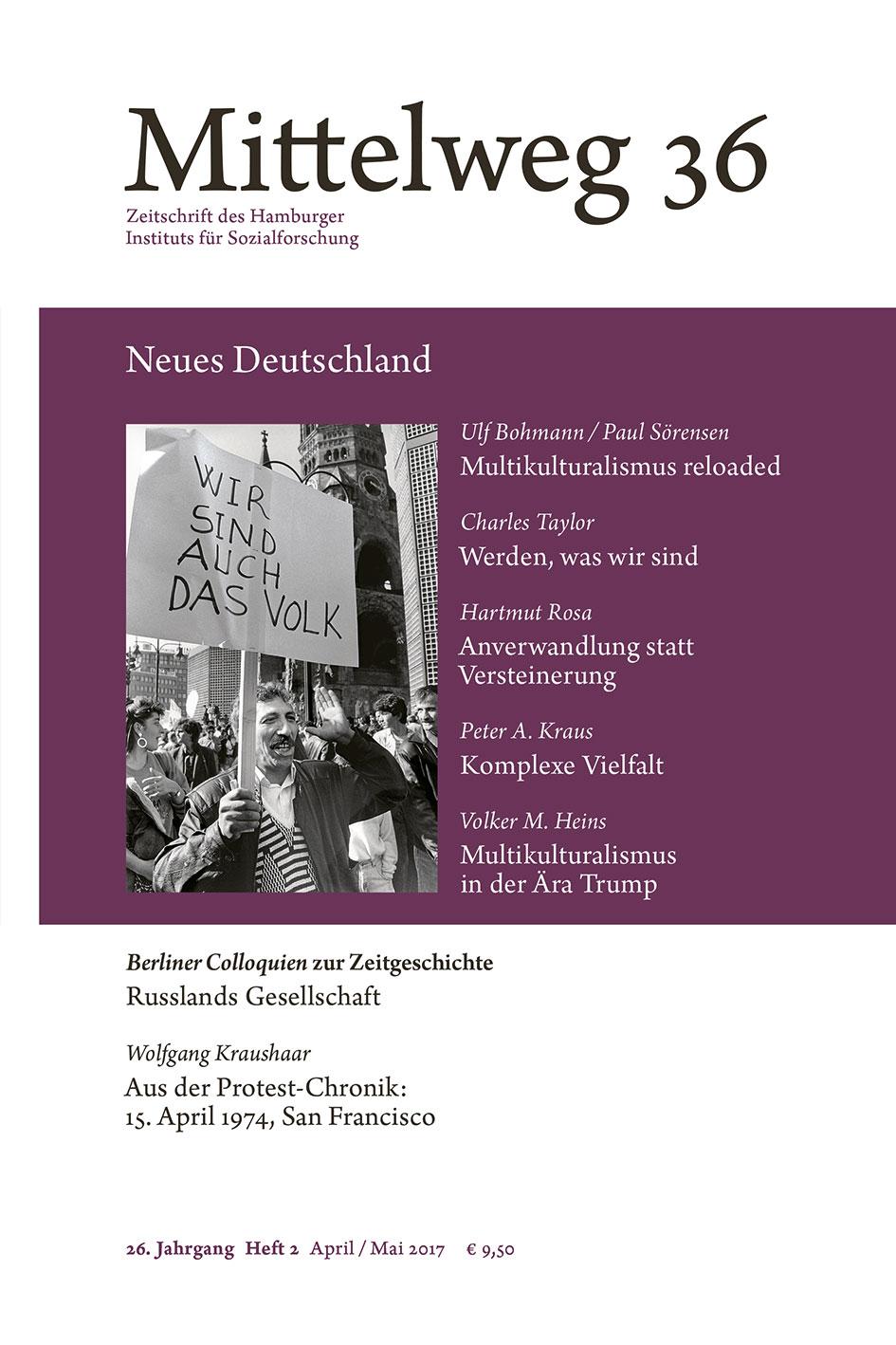 Cover of Mittelweg 36