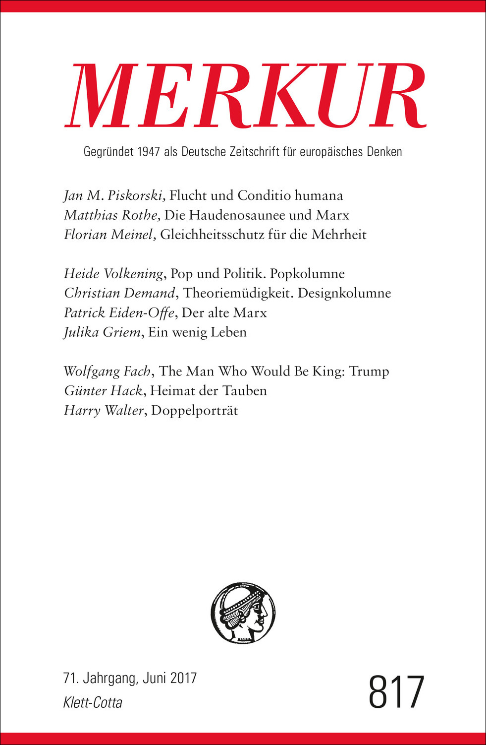Cover of Merkur
