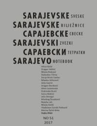Cover of Sarajevo Notebook