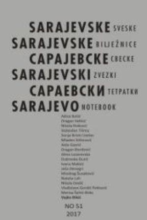 Cover of Sarajevo Notebook