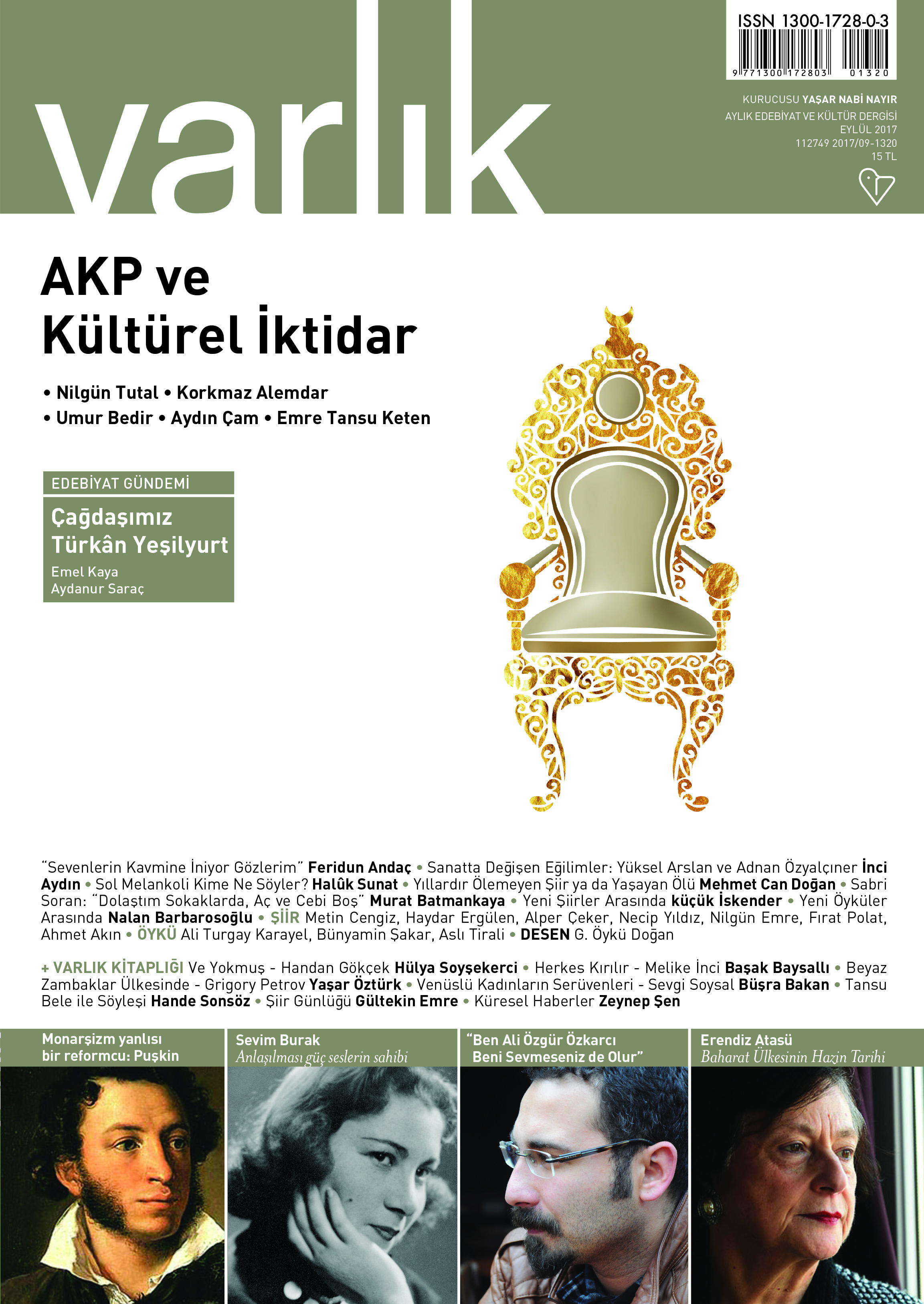 Cover of Varlik