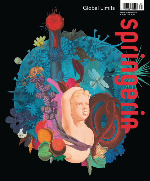 Cover of springerin