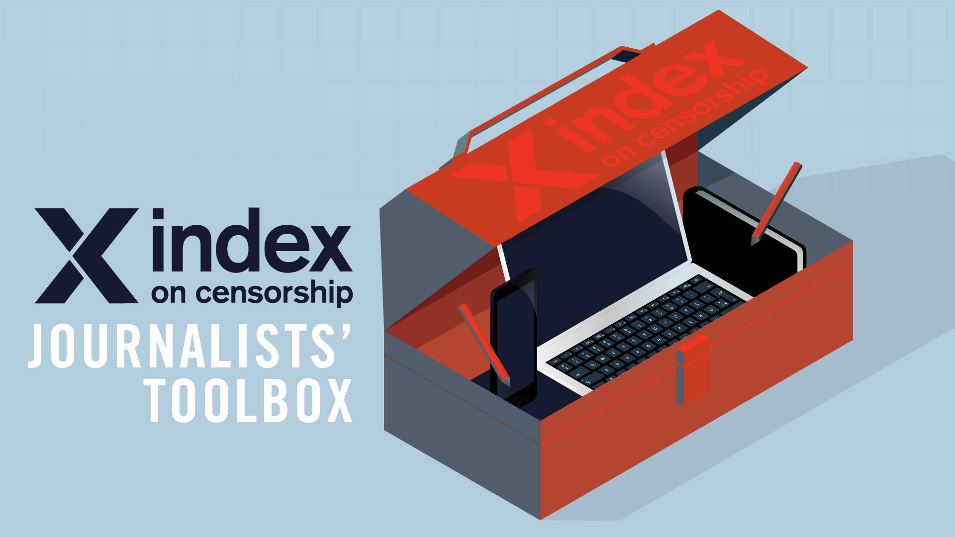 Cover for: A new, multi-lingual resource for journalists and readers from 'Index on Censorship'