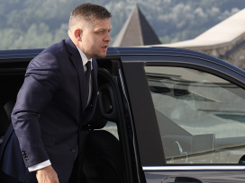 Cover for: Slovakia's prime minister sets his sights on 'Soros'