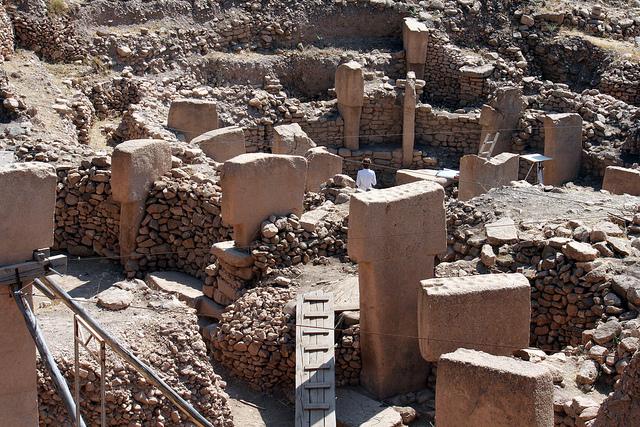 Раскопки в Гебёкли-Тепе