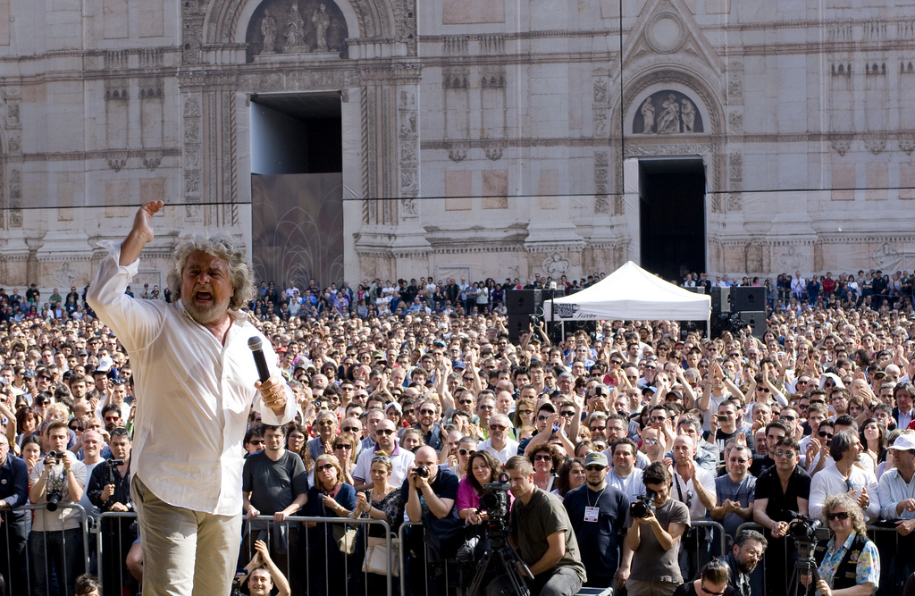 Cover for: 'Gentismo' not 'populismo': Italy's Five Star Movement