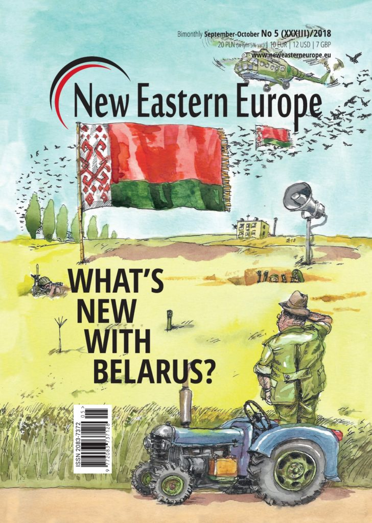 Cover of New Eastern Europe