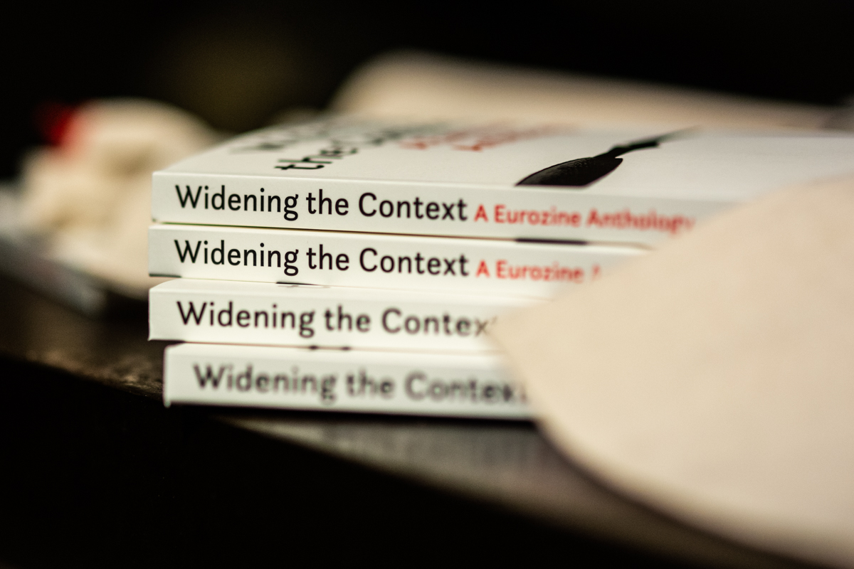 Cover for: Widening the Context: A Eurozine Anthology