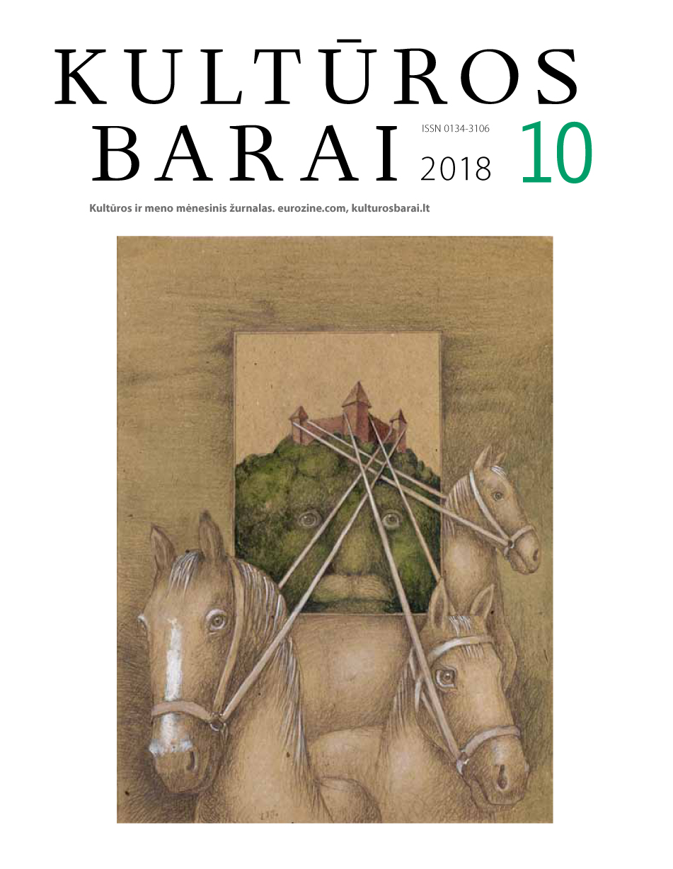 Cover of Kulturos barai
