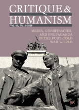 Cover of Critique and Humanism