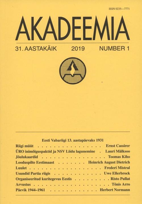 Cover of Akadeemia