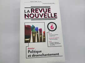 Cover for: Political disenchantment in Belgium