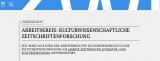 Cover of Arbeitskreis Kulturwissenschaftl. Zeitschriftenforschung