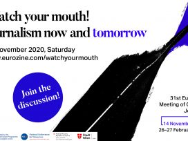 Cover for: Watch your mouth! Journalism now and tomorrow