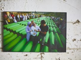 Cover for: A reminder of the Srebrenica genocide