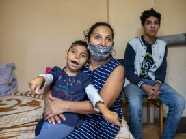 Cover for: Who's going to vaccinate Roma people?